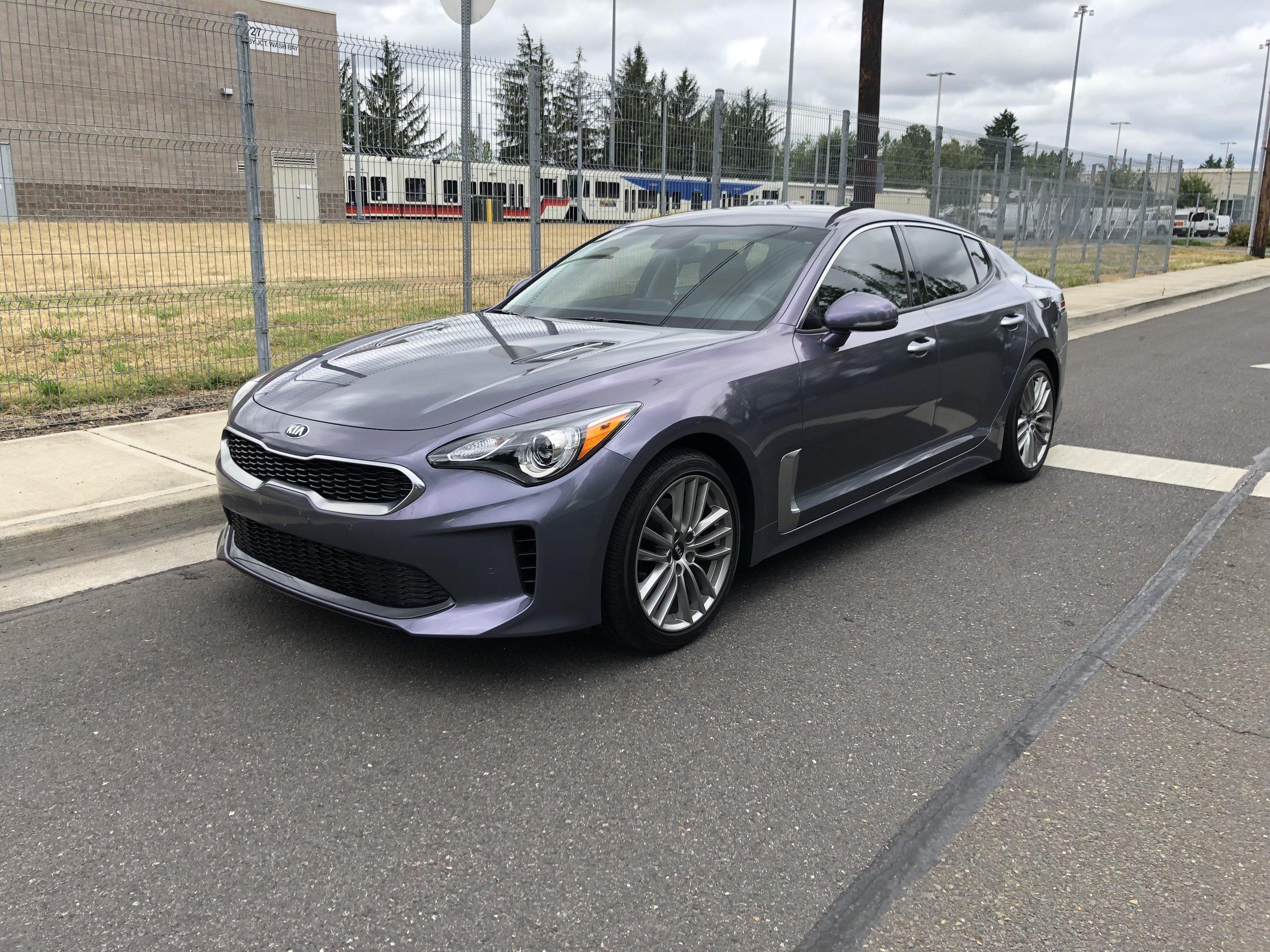 Diamond Purple over Stormcloud Grey AutoFlex Gloss