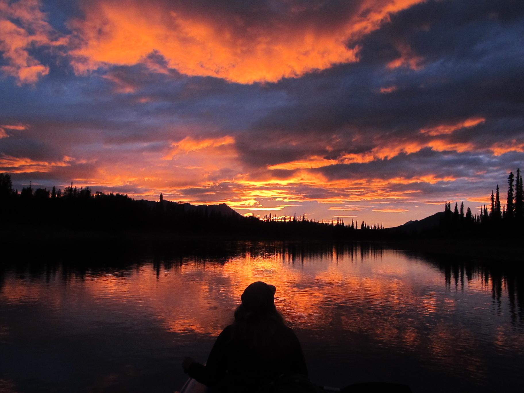 Alatna River Sunset