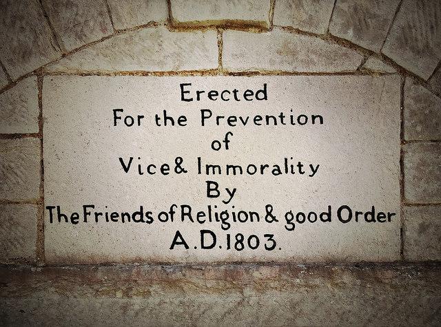 Vice and immorality - Jim Champion