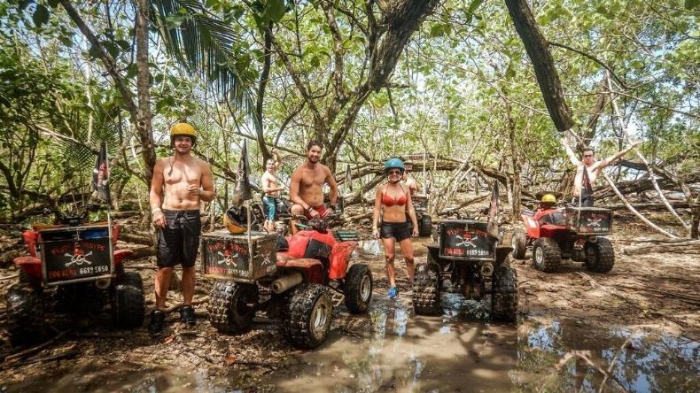 Quad Biking In Bocas Del Toro