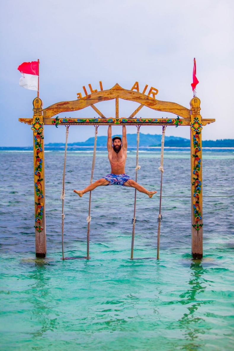Hanging Around In Gili Air, Indonesia