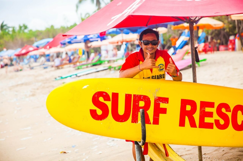 Surf Rescue, Kuta Beach