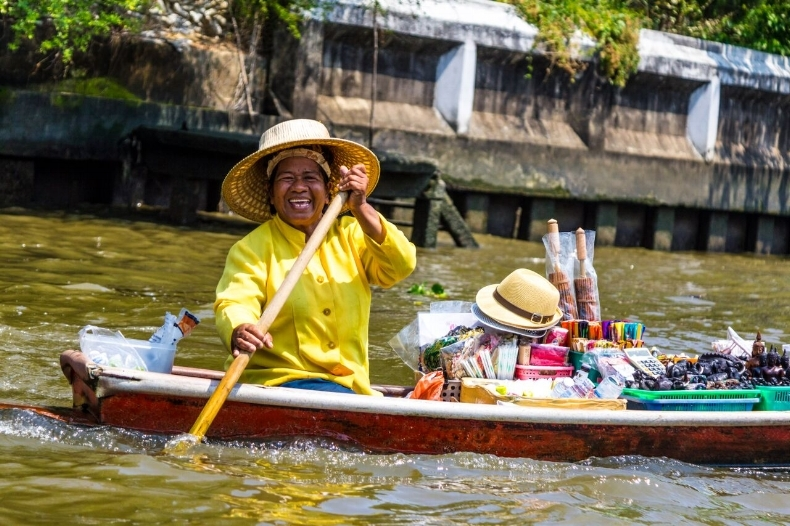Bangkok Canal Seller