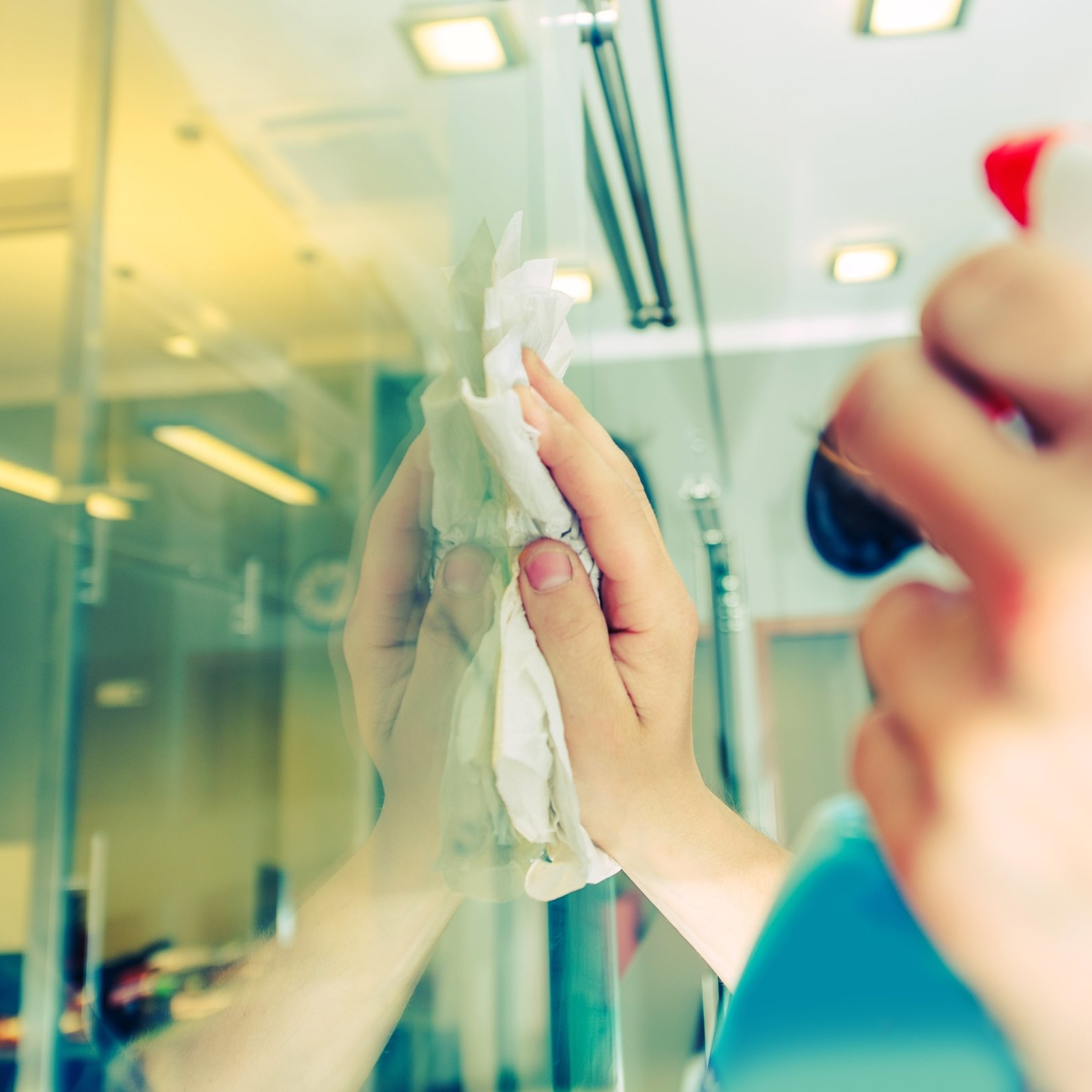 Office Cleaning - A clean office helps keep customers happy and staff productive