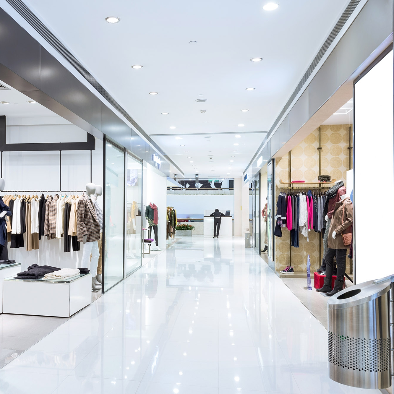 Retail Cleaning - Keep customers happy in a clean working environment using our efficient service