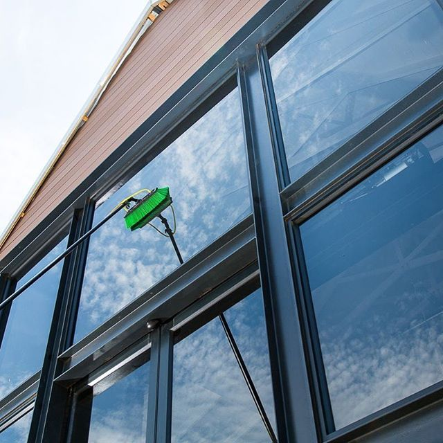 Don't forget our commercial window cleaning service - when the sun is out like this you can see every little bit on your windows - Give us a call 01483 424111 #window #windowcleaning #windowcleaner #windowcleaninglife #commercial