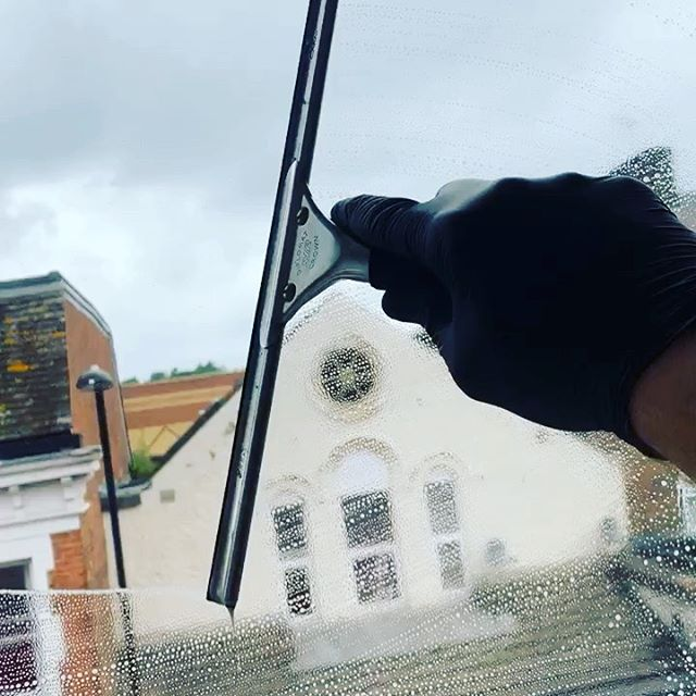 Window cleaning team was out yesterday completing 25 new builds with interior and exterior window cleaning #windowcleaning #cleaning