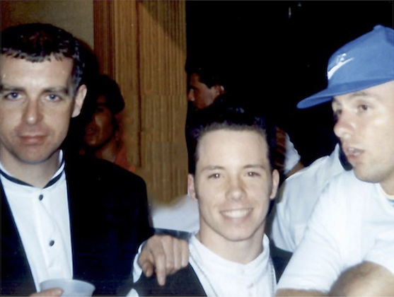 We meet for the first time in Miami, 1991, for the Performance Tour.