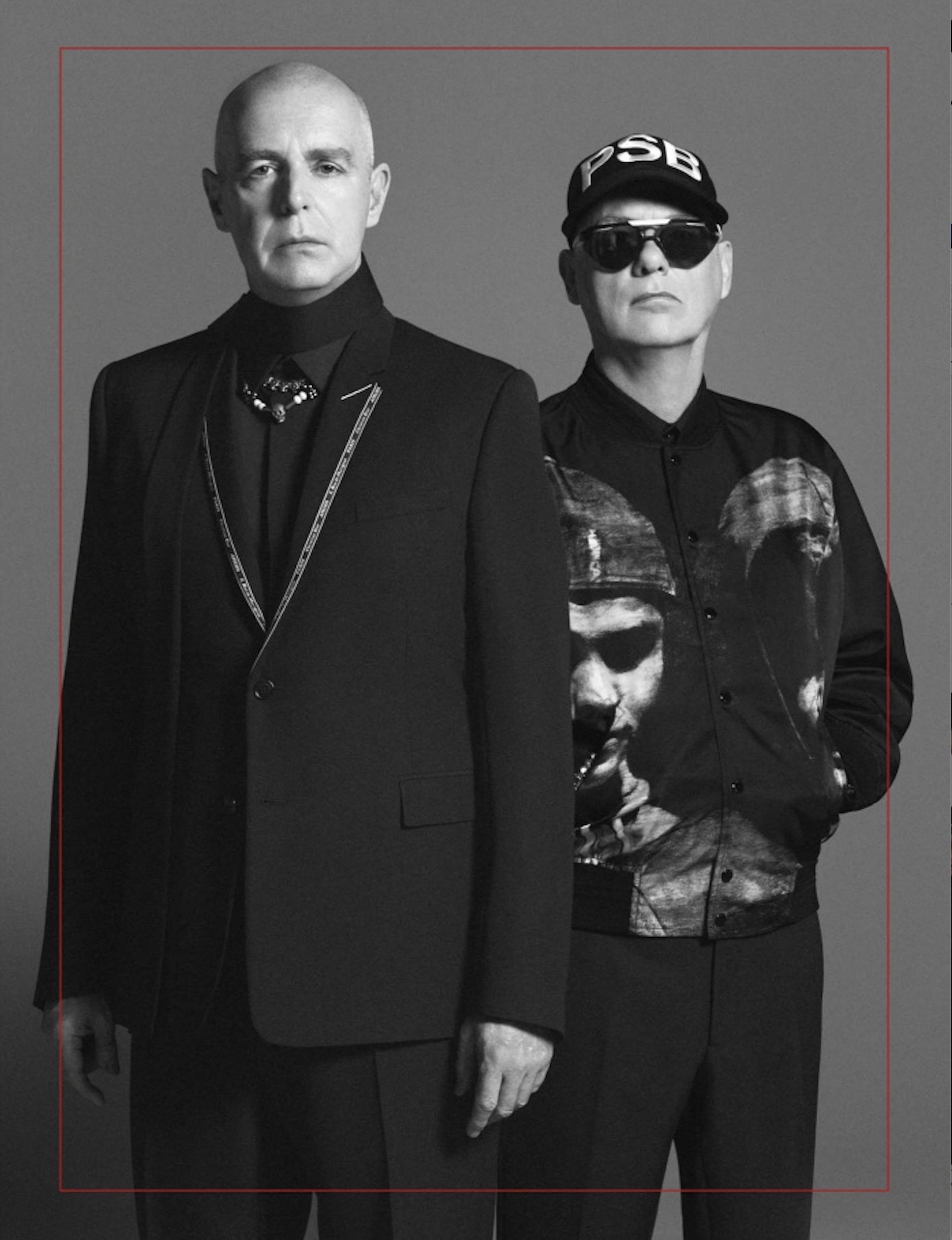 Pet Shop Boys for Dior Homme, 2018.