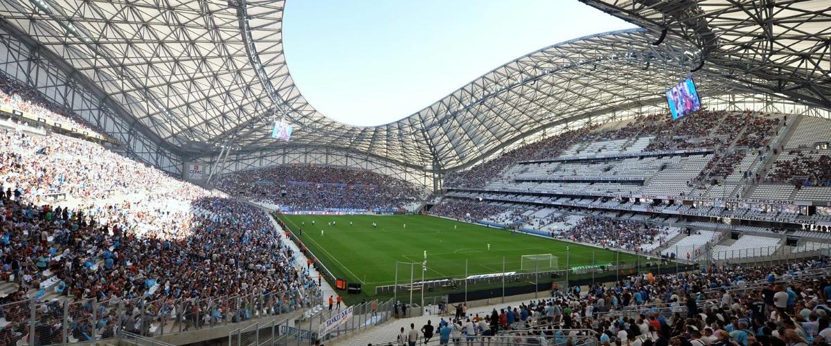 Inside the Stade Vélodrome. Image from essma.eu