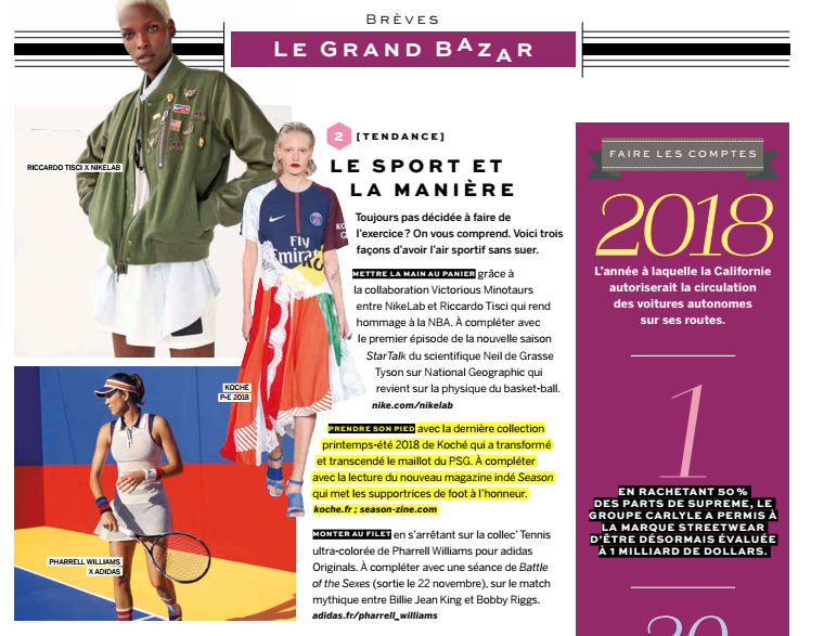 OCTOBER 2017  | STYLIST FRANCE