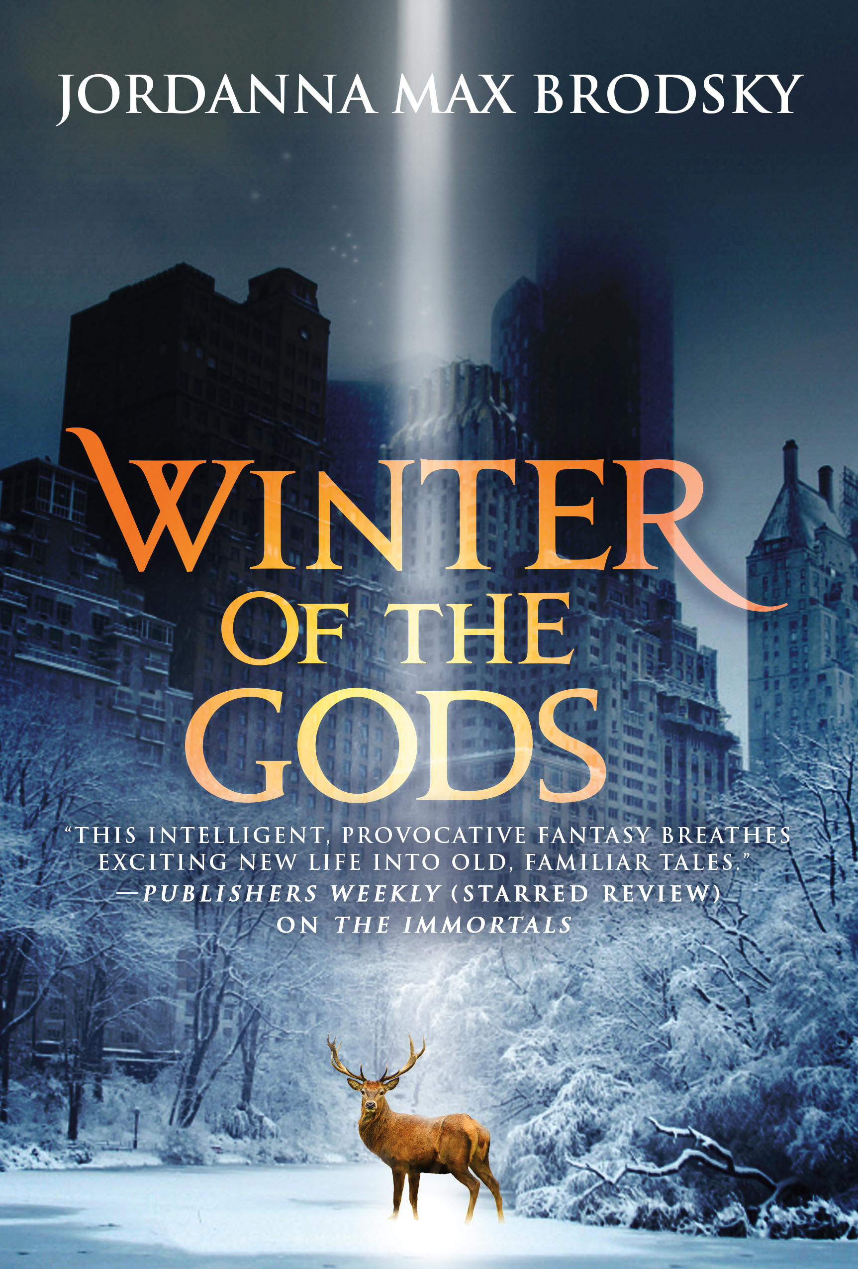WINTER OF THE GODS Hardcover by Jordanna Max Brodsky