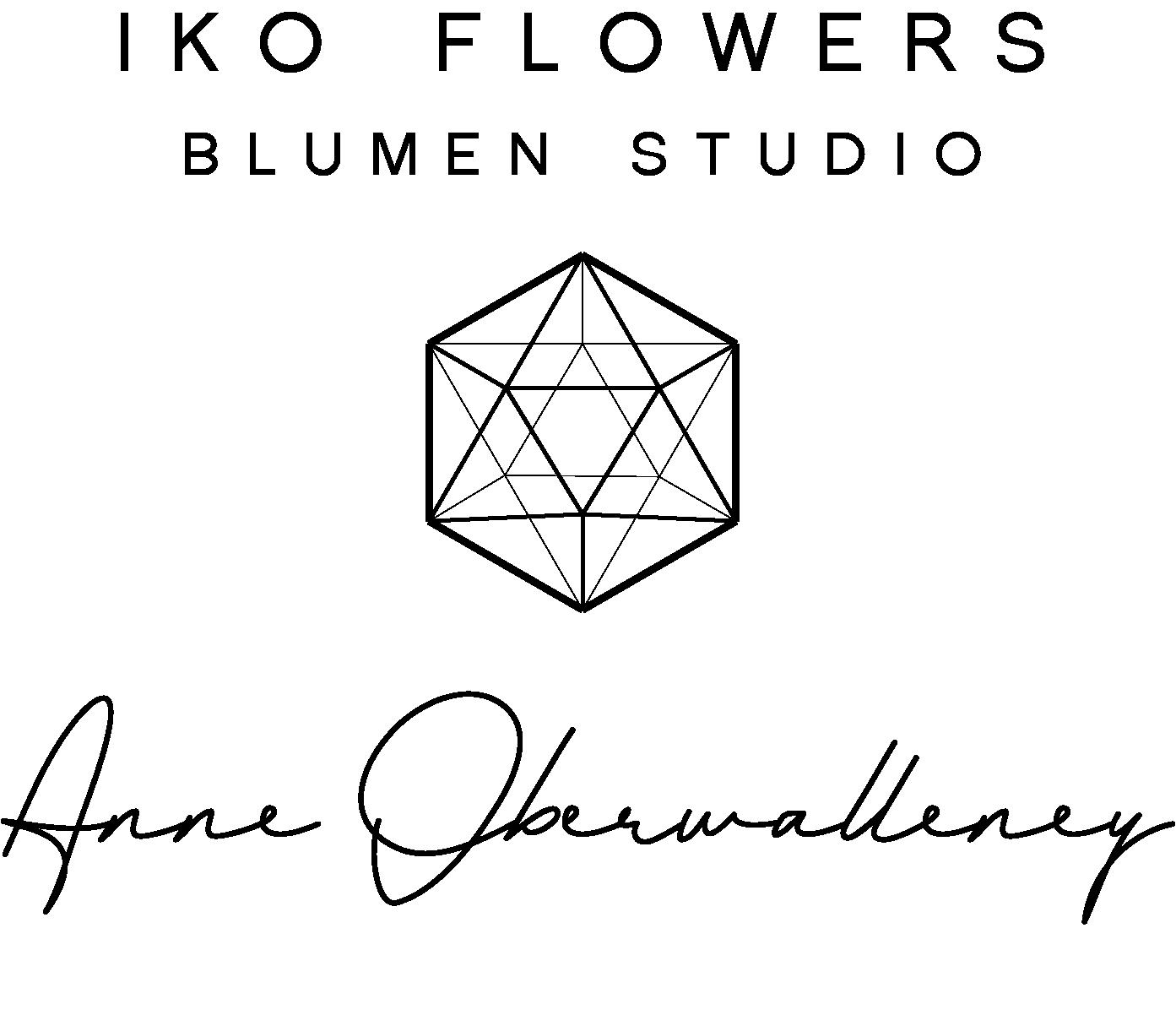 IKO Flowers Blumen Studio Logo 3 black.png
