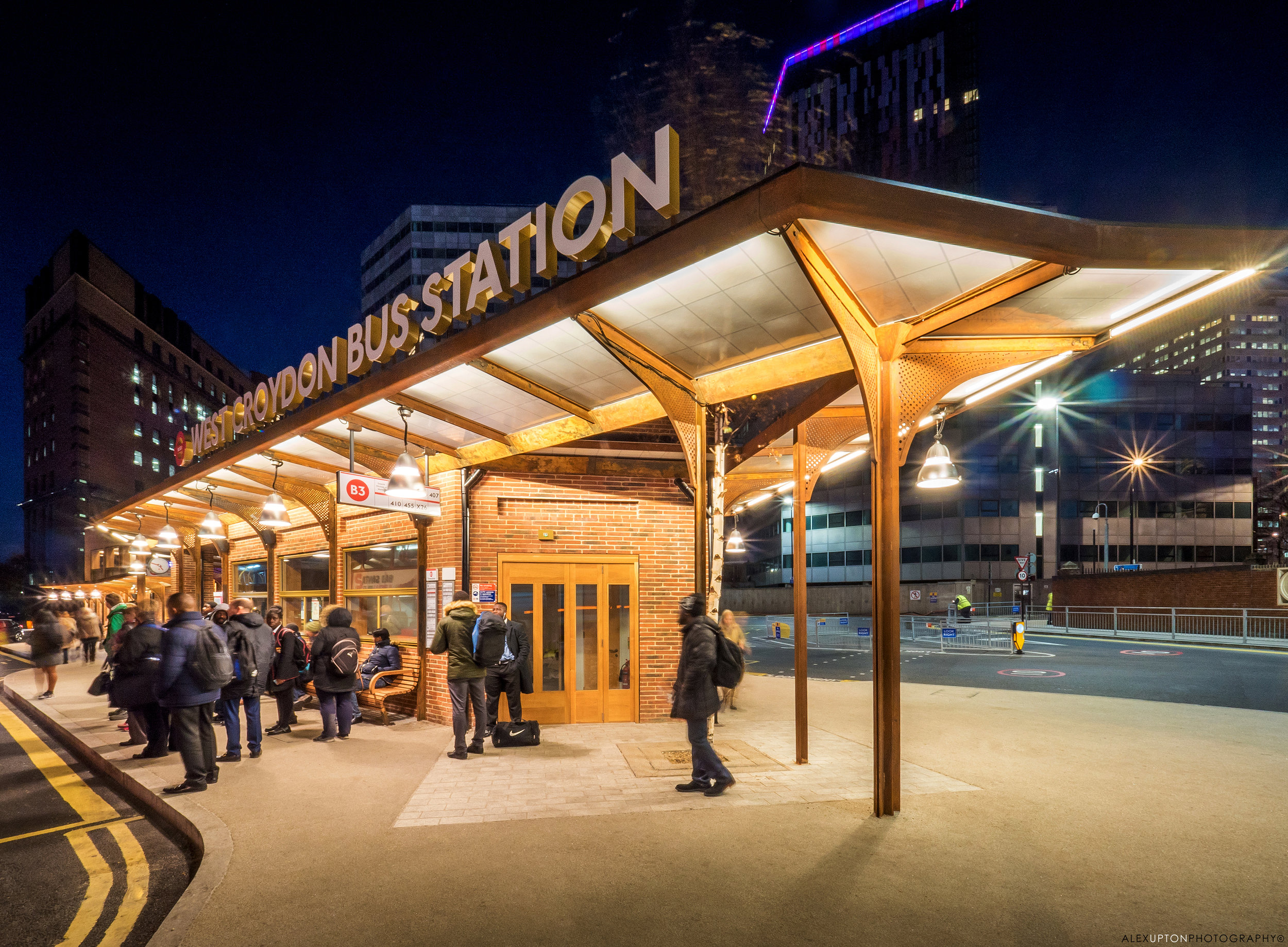 West Croydon Bus Station by architect Martin Eriksson : Photography: Copyright © Alex Upton