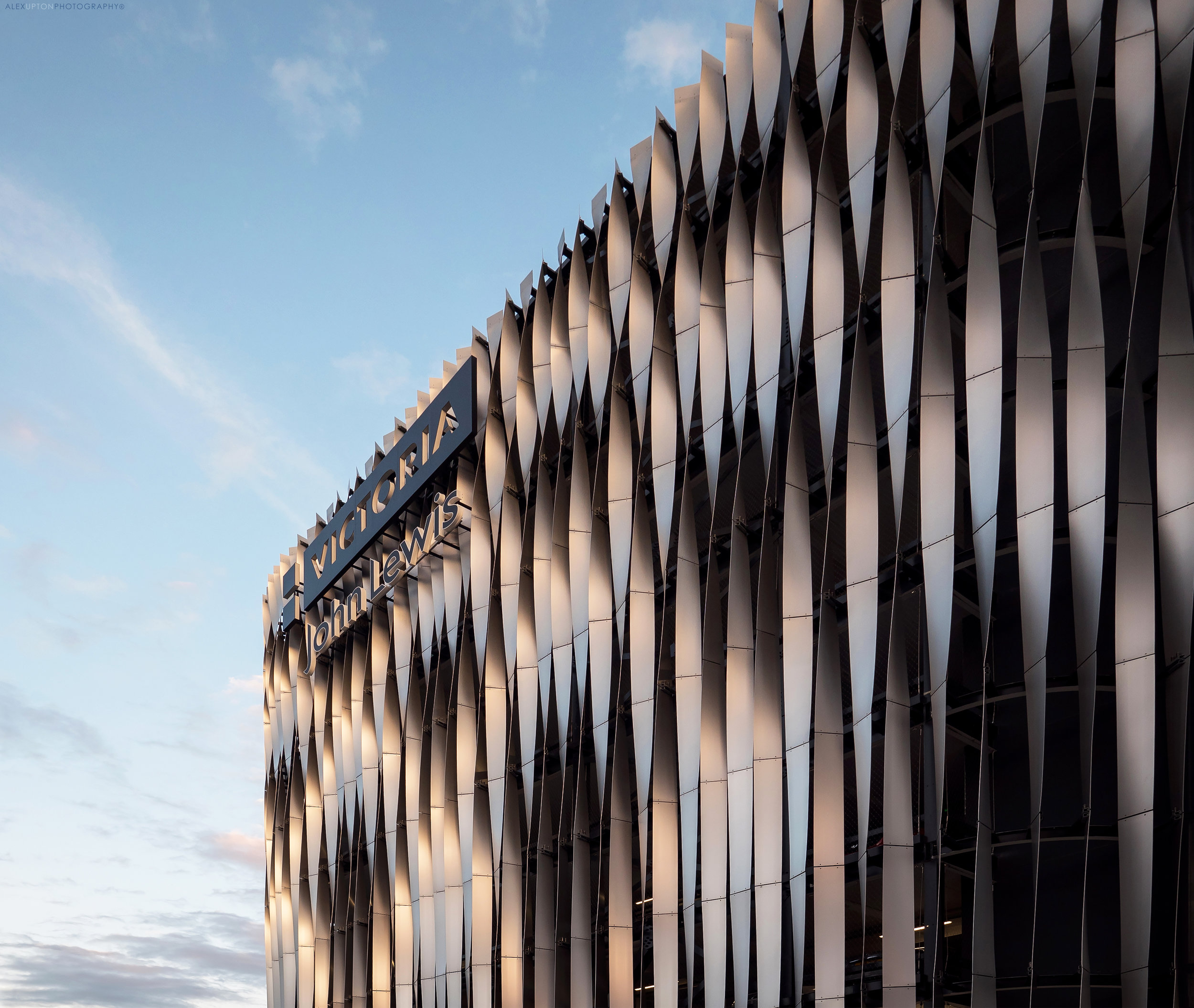 John Lewis Car Park Facade. Photography: Copyright © Alex Upton