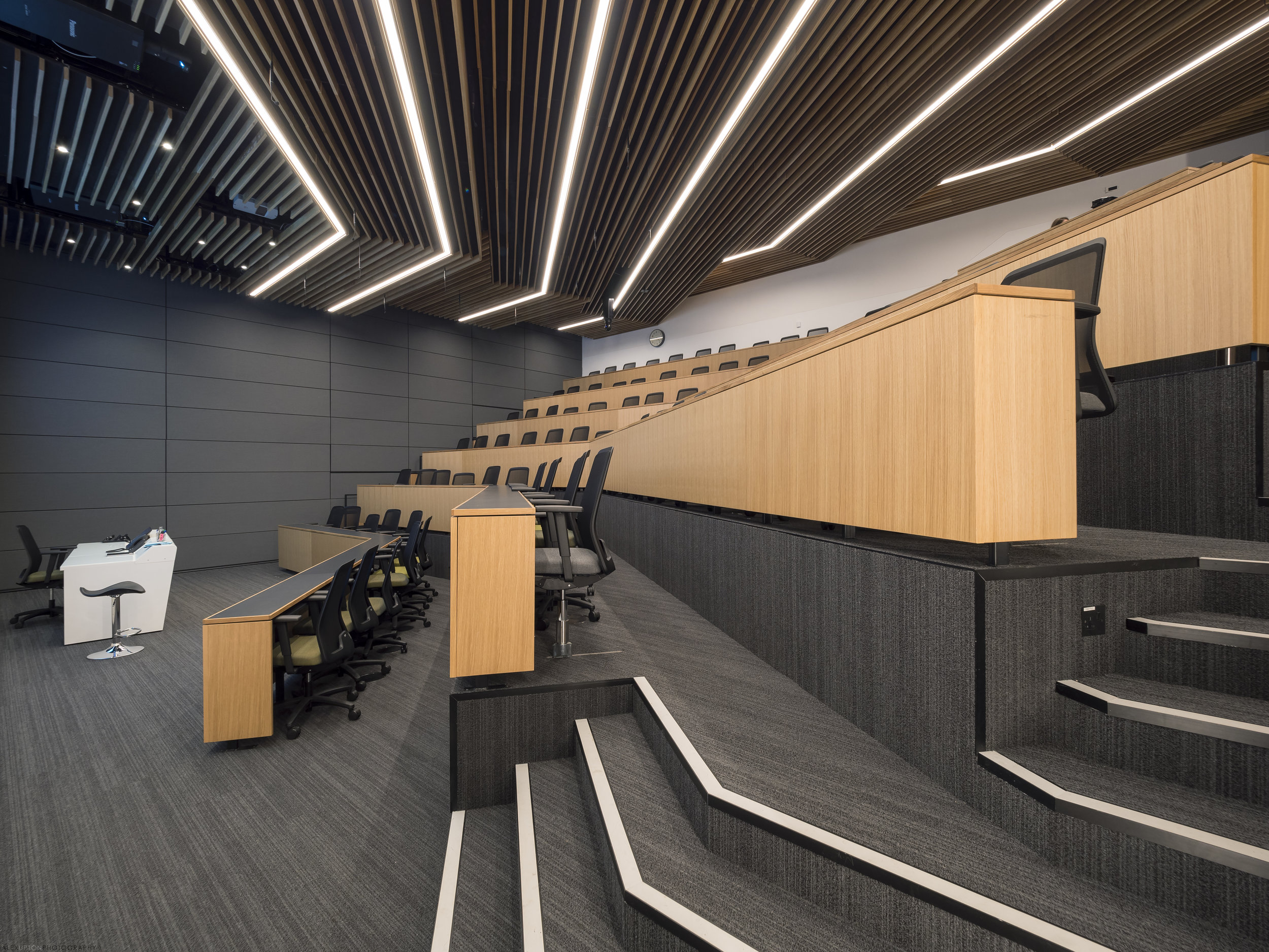The Sammy Ofer Centre - One of the two main lecture theaters.