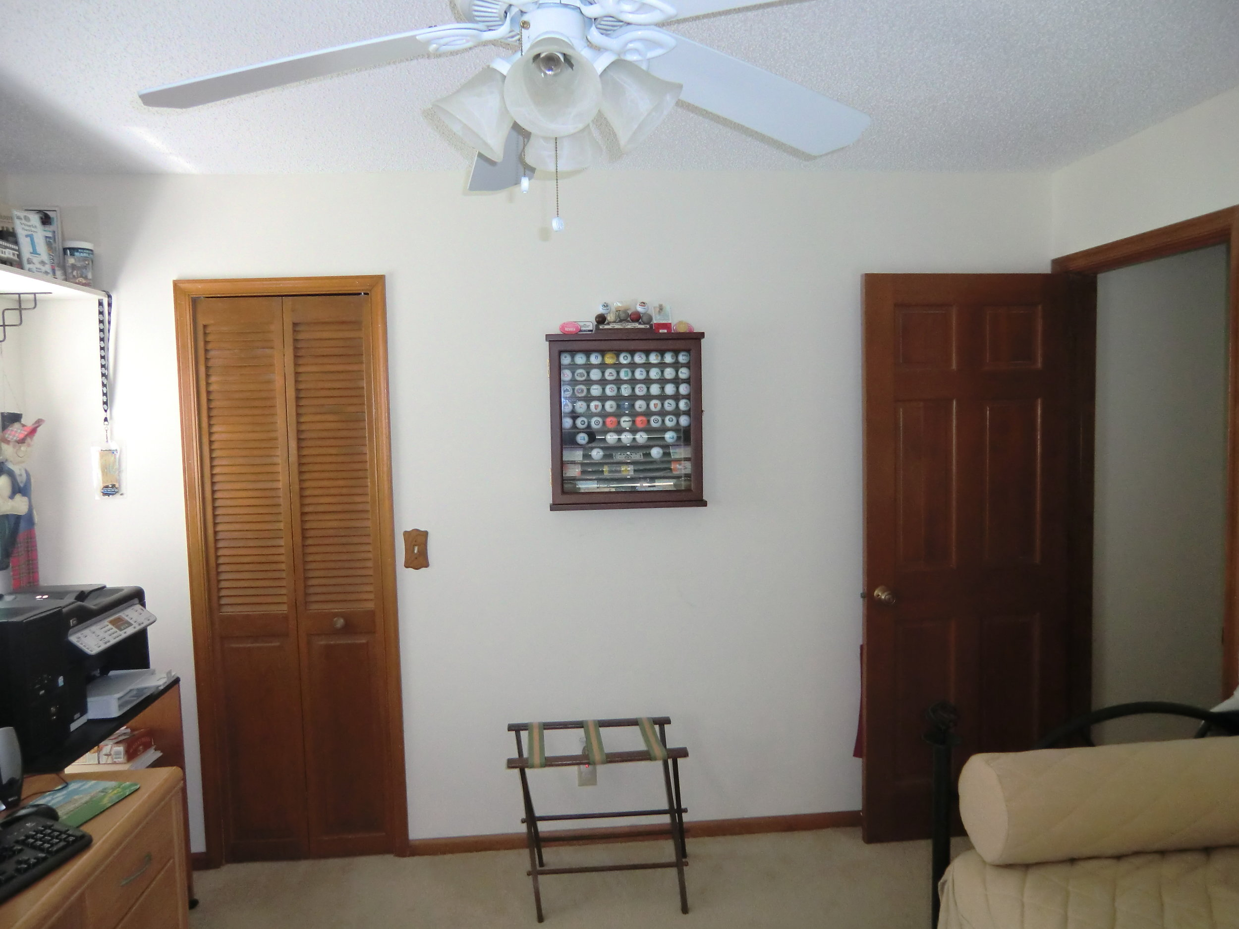 Interior design services for Tropical - Colonial - Bahamas Style home office - library located in Saint Andrews Country Club