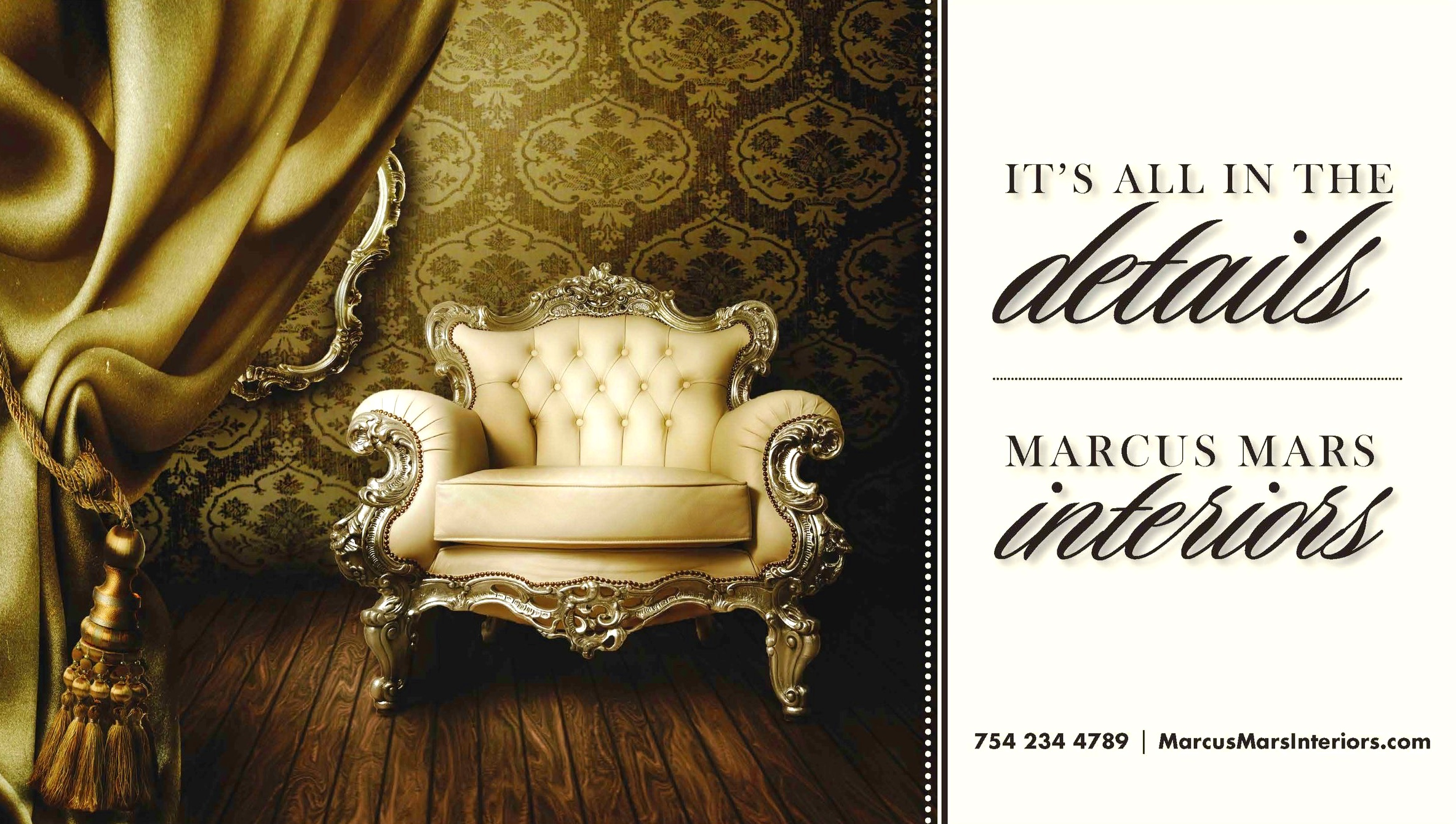 Marcus Mars Interiors - Its all in the details - Fort Lauderdale / Broward county interior designer
