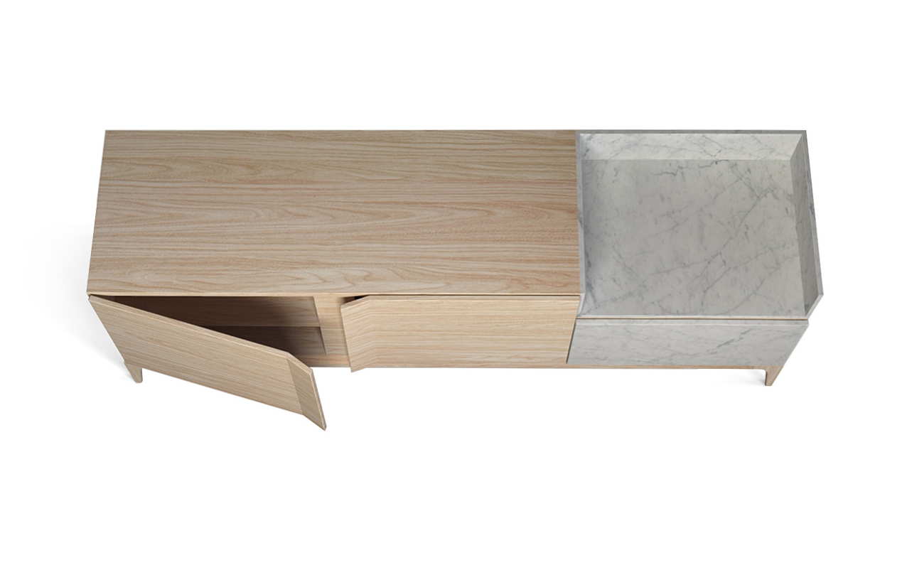 Storm Wood Sideboard