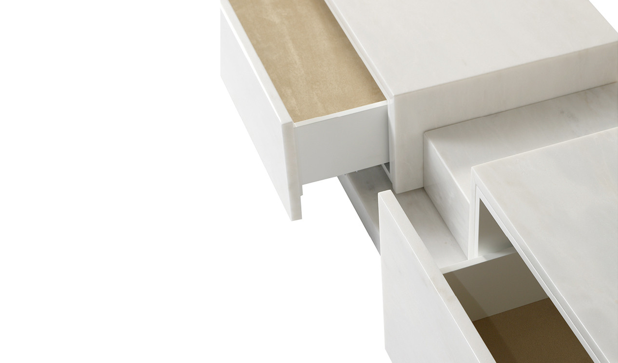 Detail of Podium Sideboard drawers
