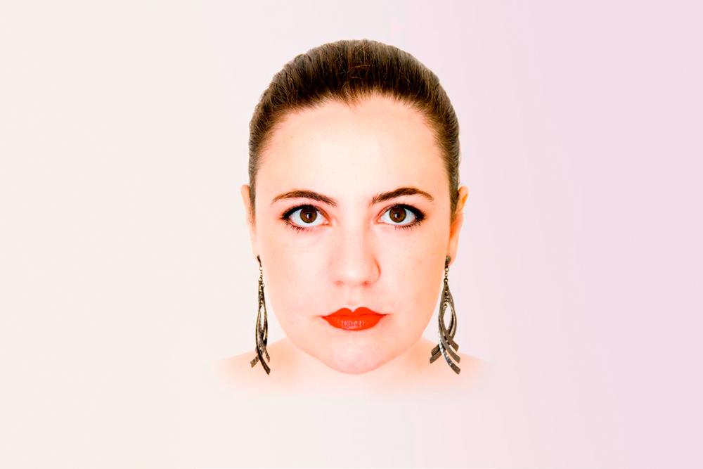"Releitura do ""Auto-retrato I""(Tarsila do Amaral), por Dani Libardi e Bruno Nicko"