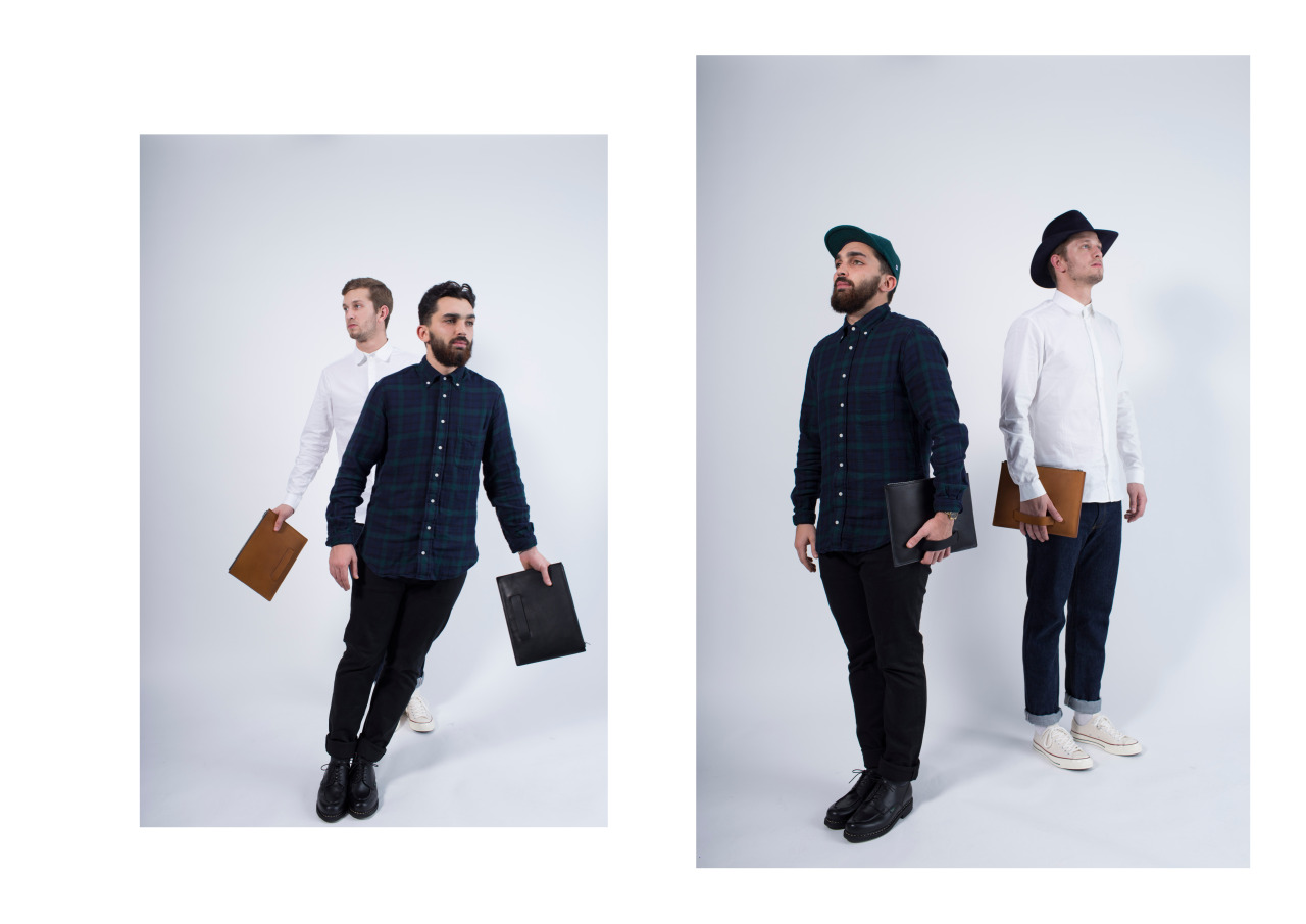 """On Highsnobiety :   """"Le Feuillet 2015 """"Pantin"""" Lookbook   Le Feuillet presents a new way to carry your essentials, as the French leather goods brand here launches the lookbook for its new 2015 """"Pantin"""" campaign. The premium leather accessories have been constructed from the finest materials, highlighted by a large clutch-type carrying case as well as a matching wallet. Available in black and brown, the zip-entry case features a unique hand strap on the rear to aid in carrying convenience for your tablet or laptop."""""""