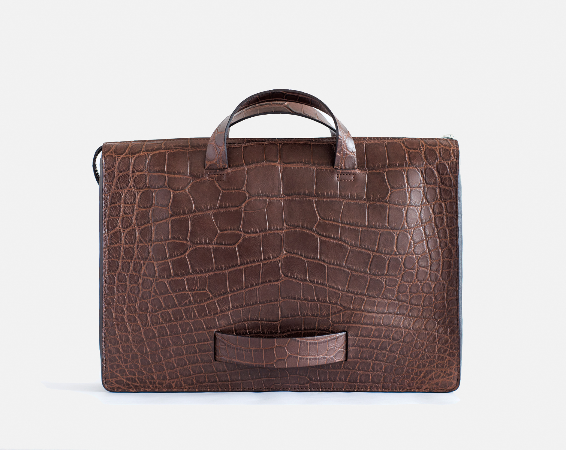Our Briefcase in Nil Crocodile