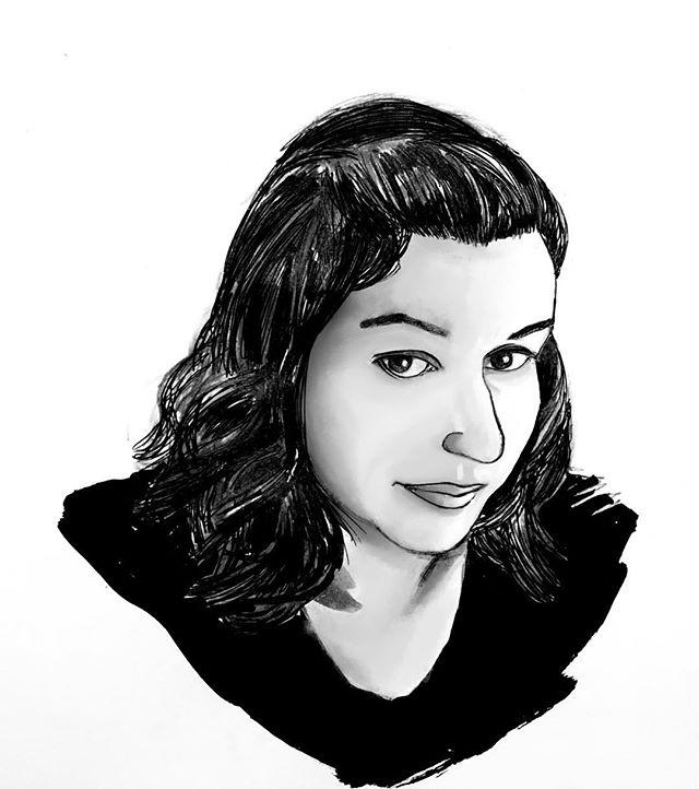 Day 9: @funkepunkemonke  #inktober #inktober2018 #art #artist #instaart #draw #drawdaily #practice #sketches #marker #brushpen #fanart #comicart #comicartist #inking #drawing #ink #pendrawing #illustration #copic #pentel #artistsoninstagram #artists #brushpen #penandink #portrait #inkportrait