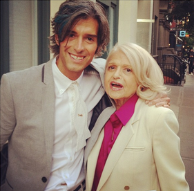 I ran into Edie Windsor on the street in July 2013 and I thanked her for what she did for Gay Marriage rights. It was like meeting a hero, who literally changed the course of your life because of what she fought for in the Supreme Court.