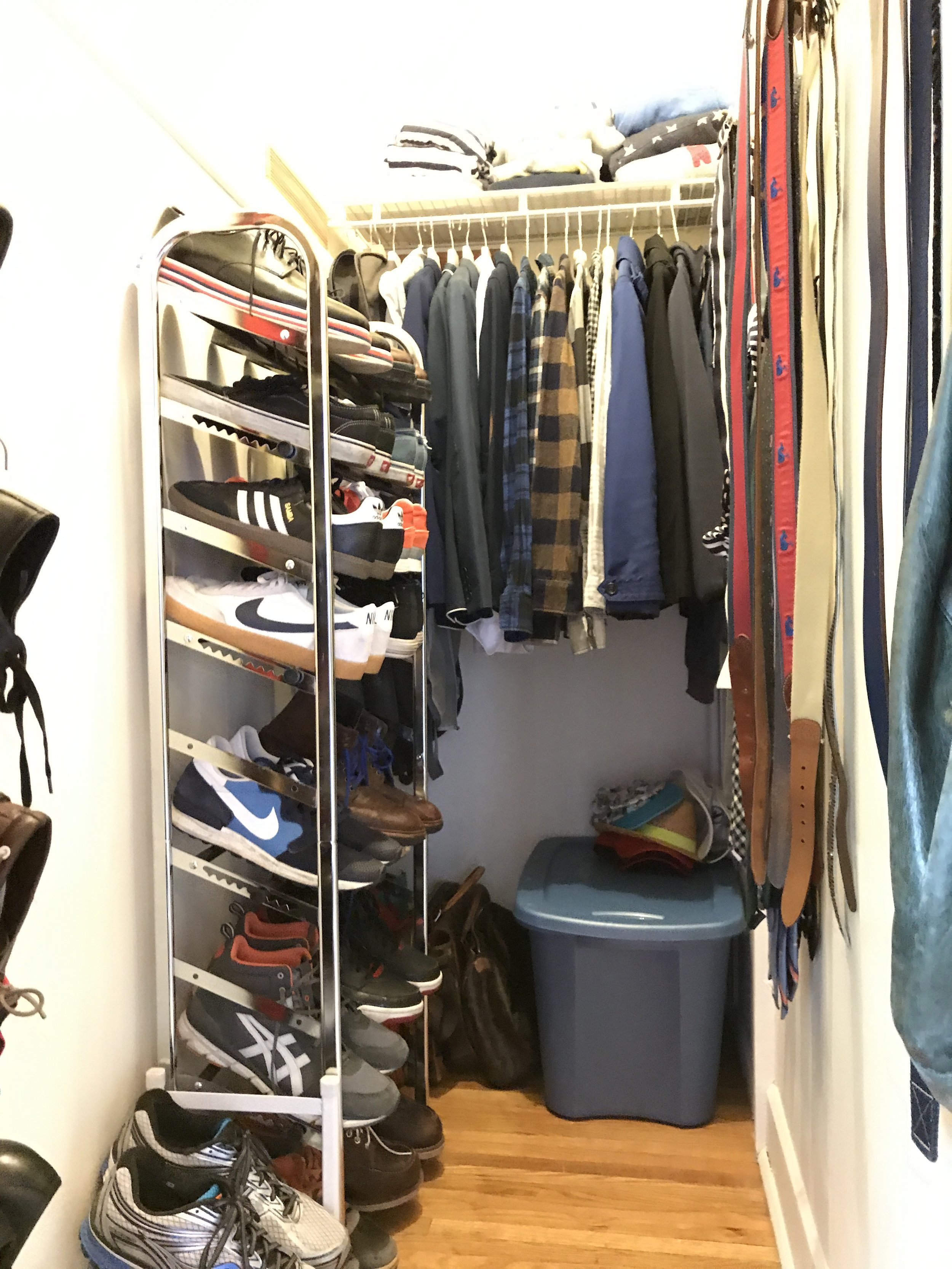 My 2nd closet in the new house.