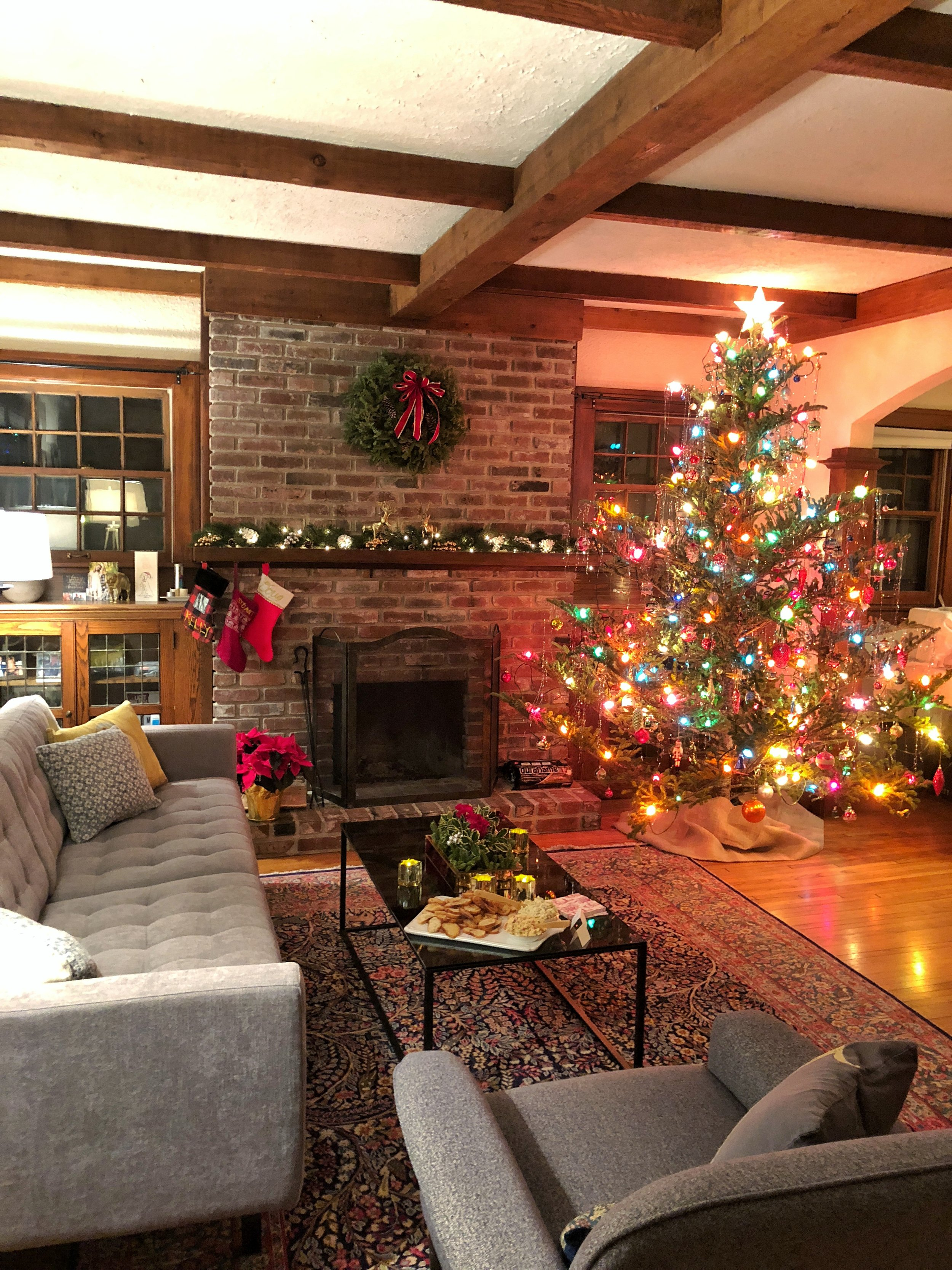 Our Holiday Party in 2017 in our new home in Linden Hills/Minneapolis, Minnesota.