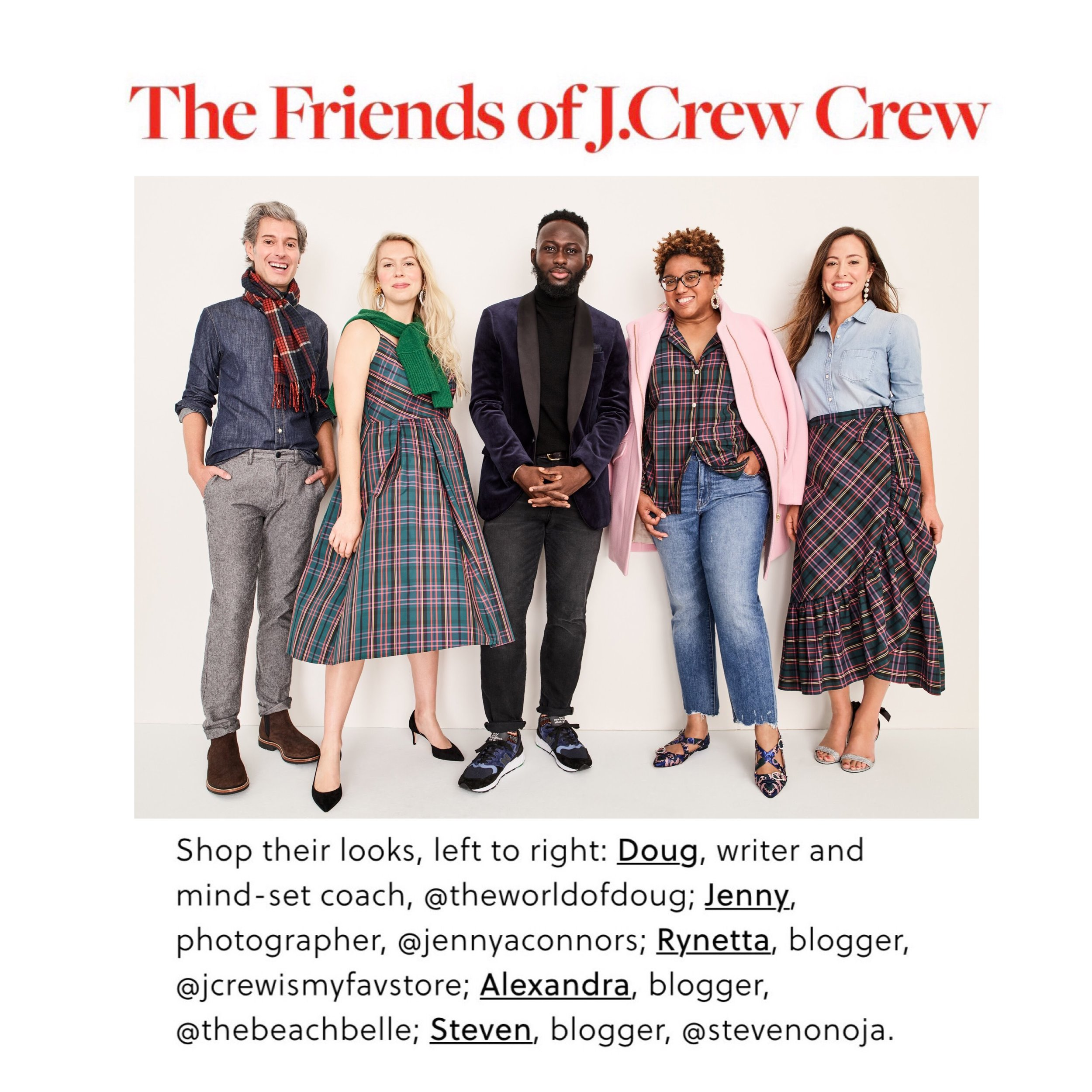 Click to see the J. Crew Meet My Crew Video! Click on image or  HERE.