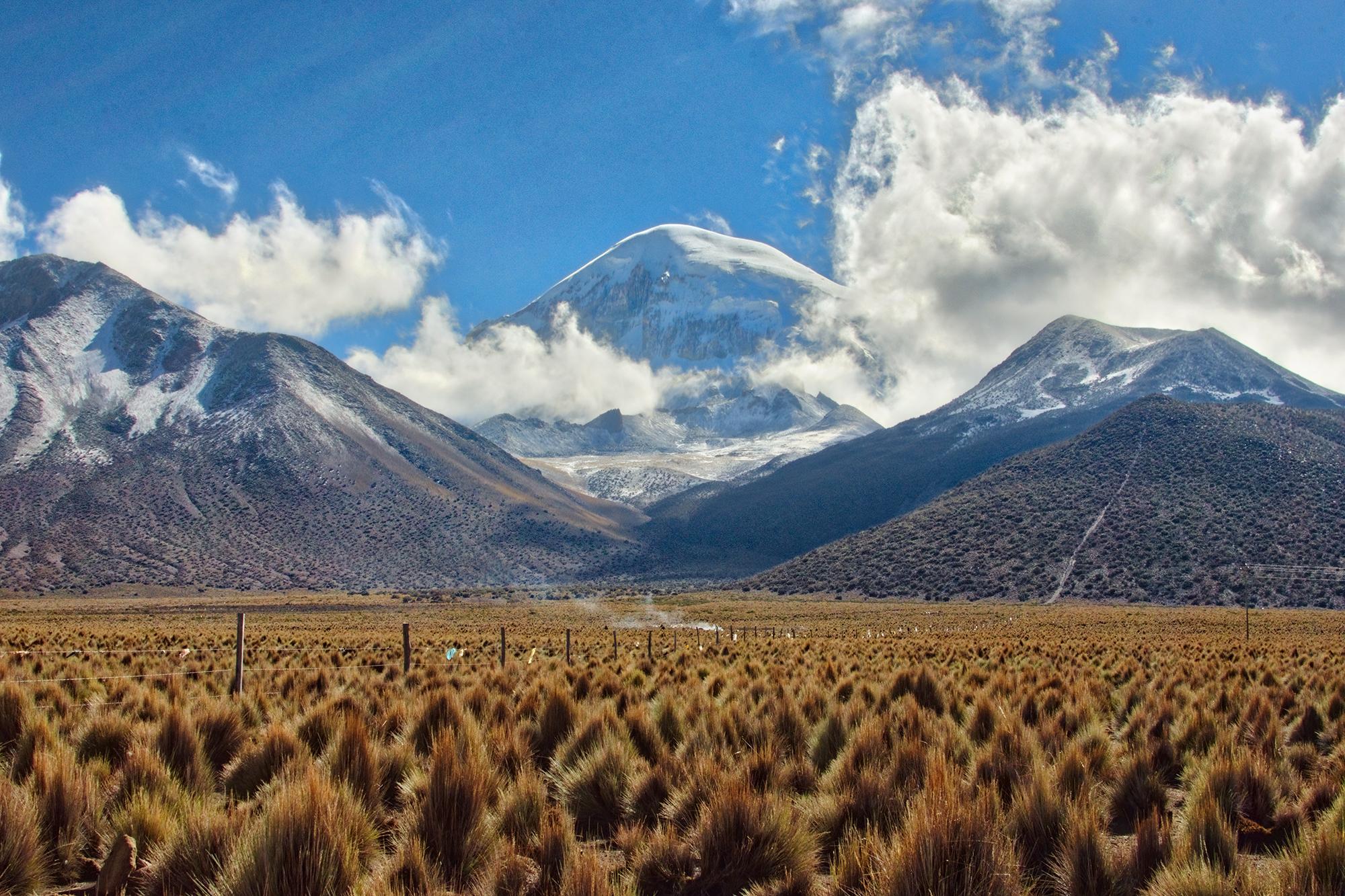 Bolivia's highest peak: Mount Sajama