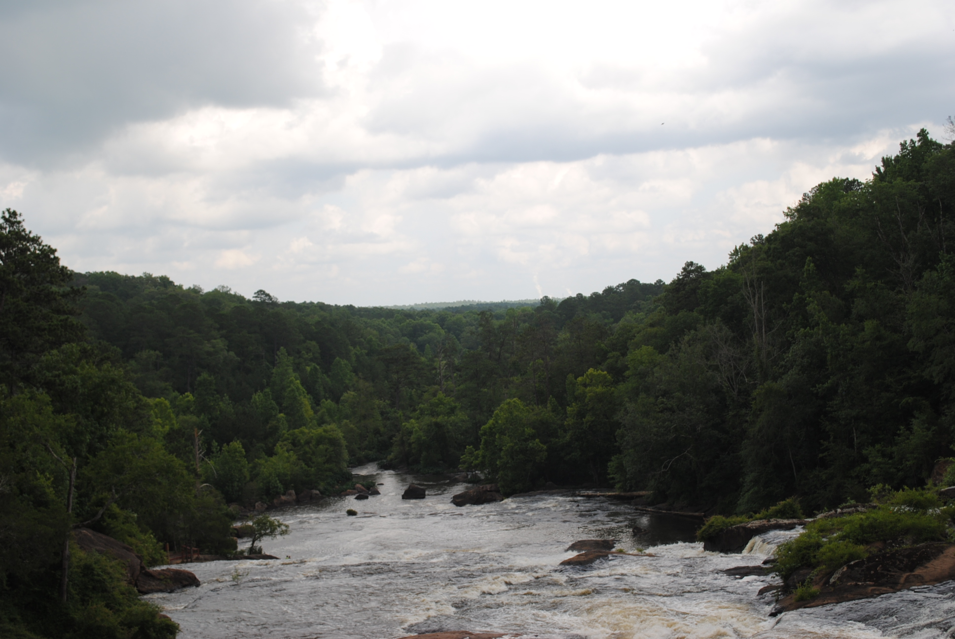 High Falls State Park, located in Monroe County, GA.