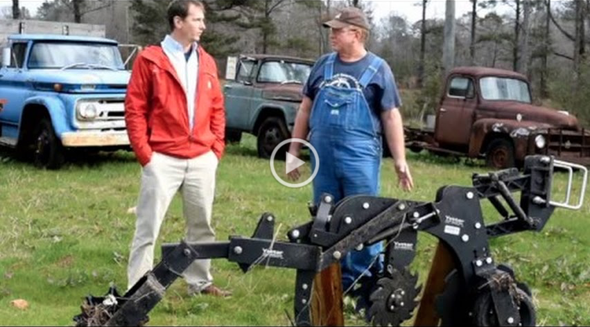 A video demonstrating the no-till drill process