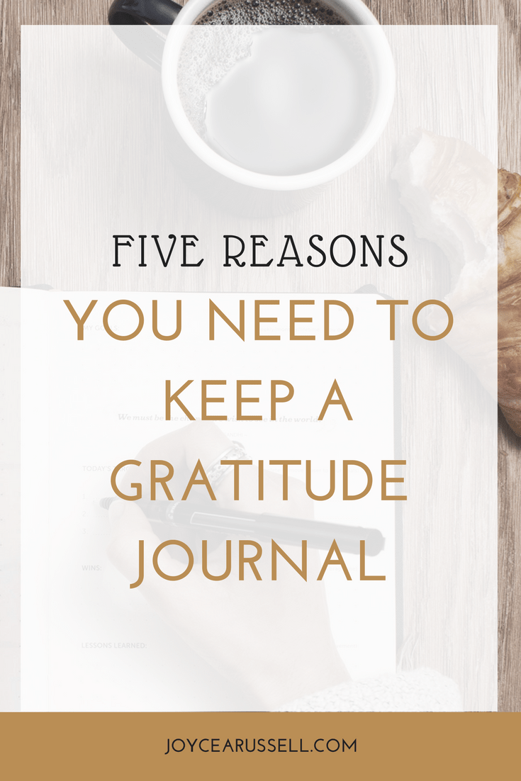 Five reasons you need to keep a gratitude journal.png