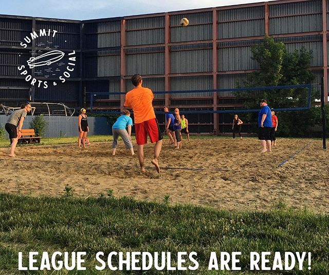 Schedules are available at a link on our Facebook, we'll be adding them to the website soon. T-shirt and email forms have been forwarded to all captains — please make sure if you're playing session 1 you fill this out prior to our first week (June 17). Reach out with any questions and we'll see you out there soon!