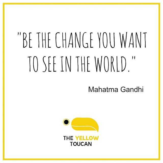 Just like Mahātmā Gandhi, we have the potential to make a change in the world, if we strongly believe in the values of equality and diversity.  It starts with children. Let's help them understand that the diversity of people, animals, food, objects is what makes the world such a beautiful place to live in. And that they, like us, have a role to play to make it even better. #theyellowtoucan #diversity #bethechange