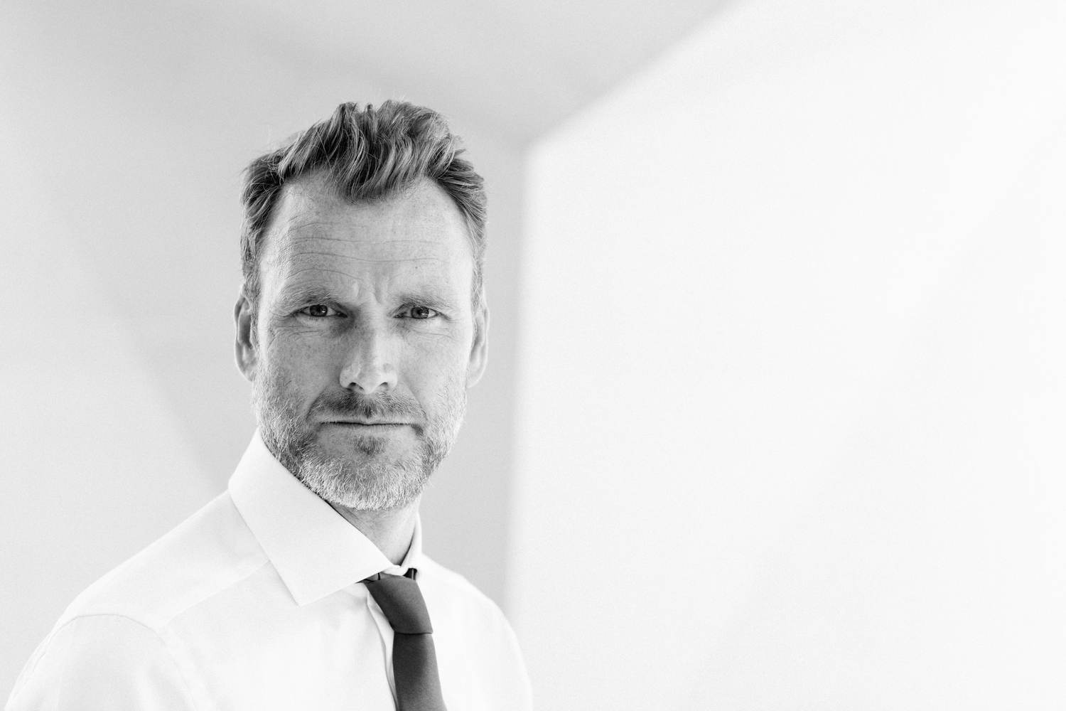Actor, model and builder Simon Mitchell.