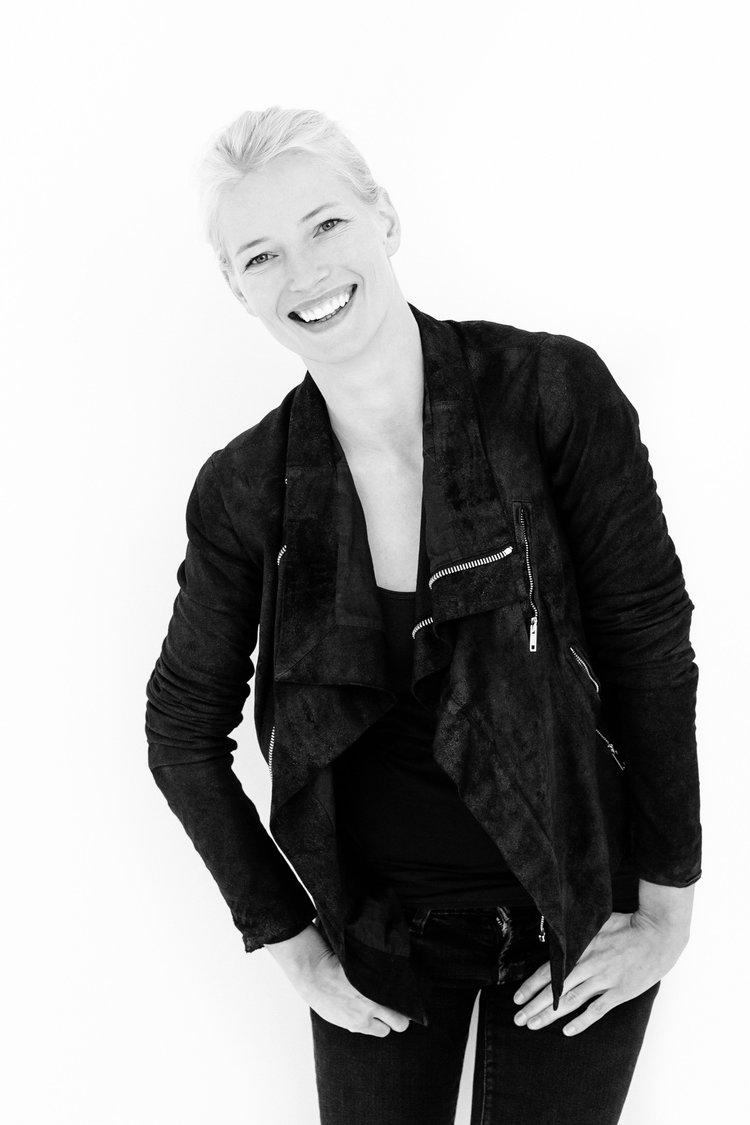 Supermodel Jessica Van Der Steen.