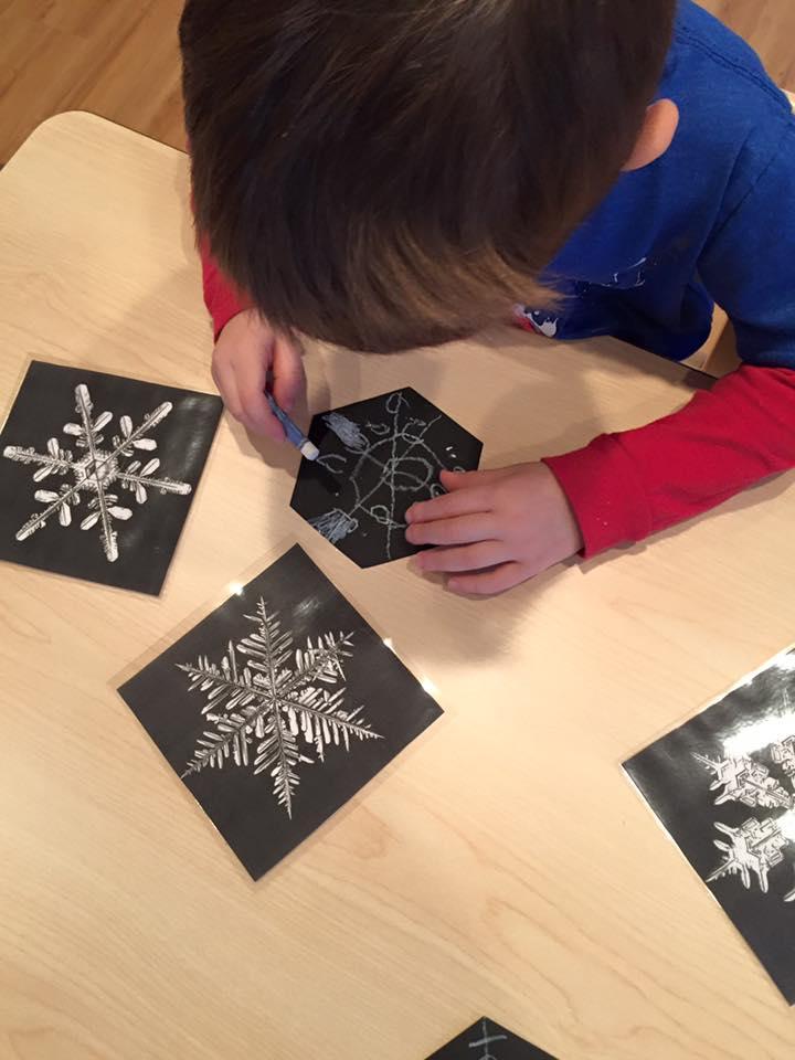Designing more snowflakes!