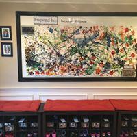 Our Jackson Pollock interpretation!