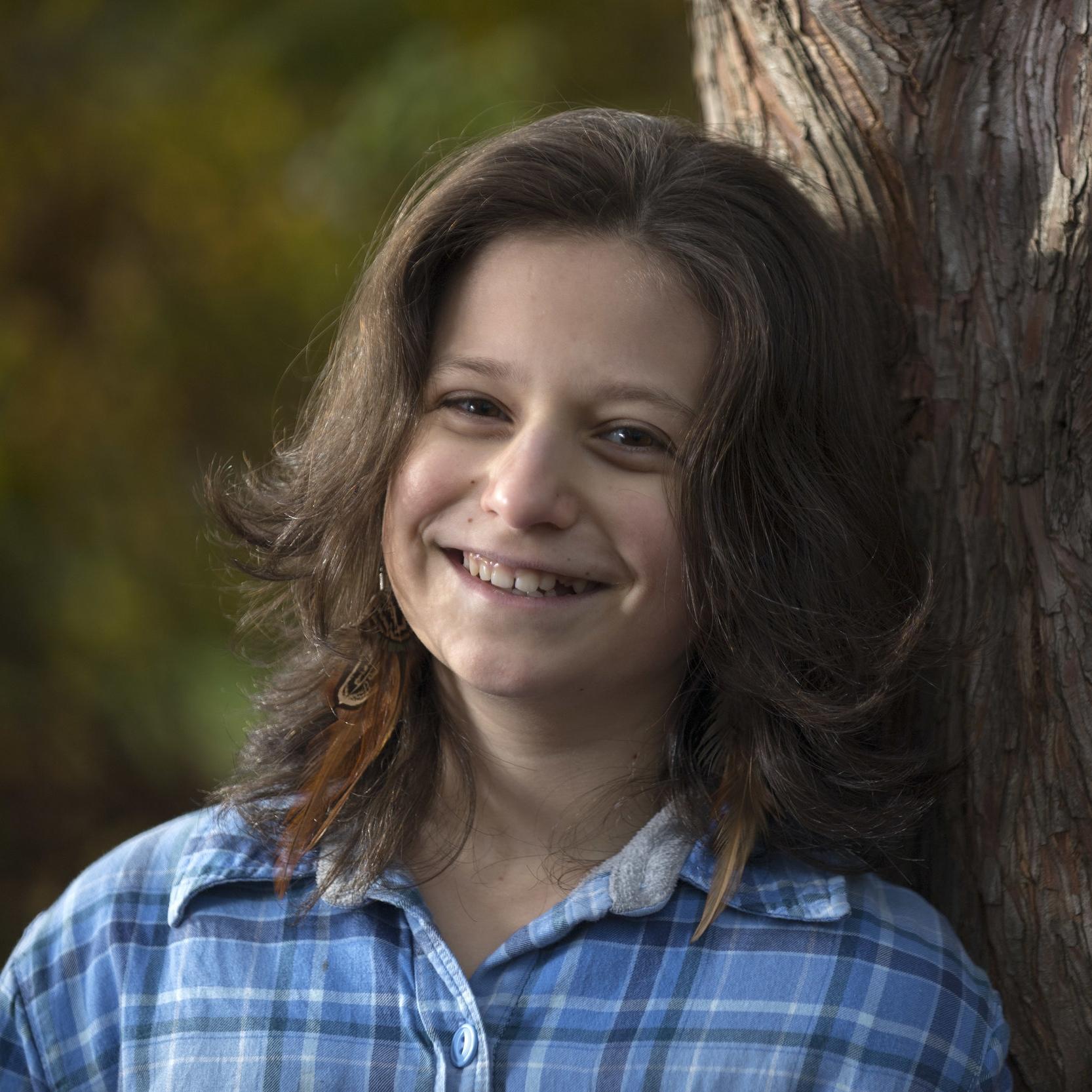 Hazel V., 15  Eugene, Oregon