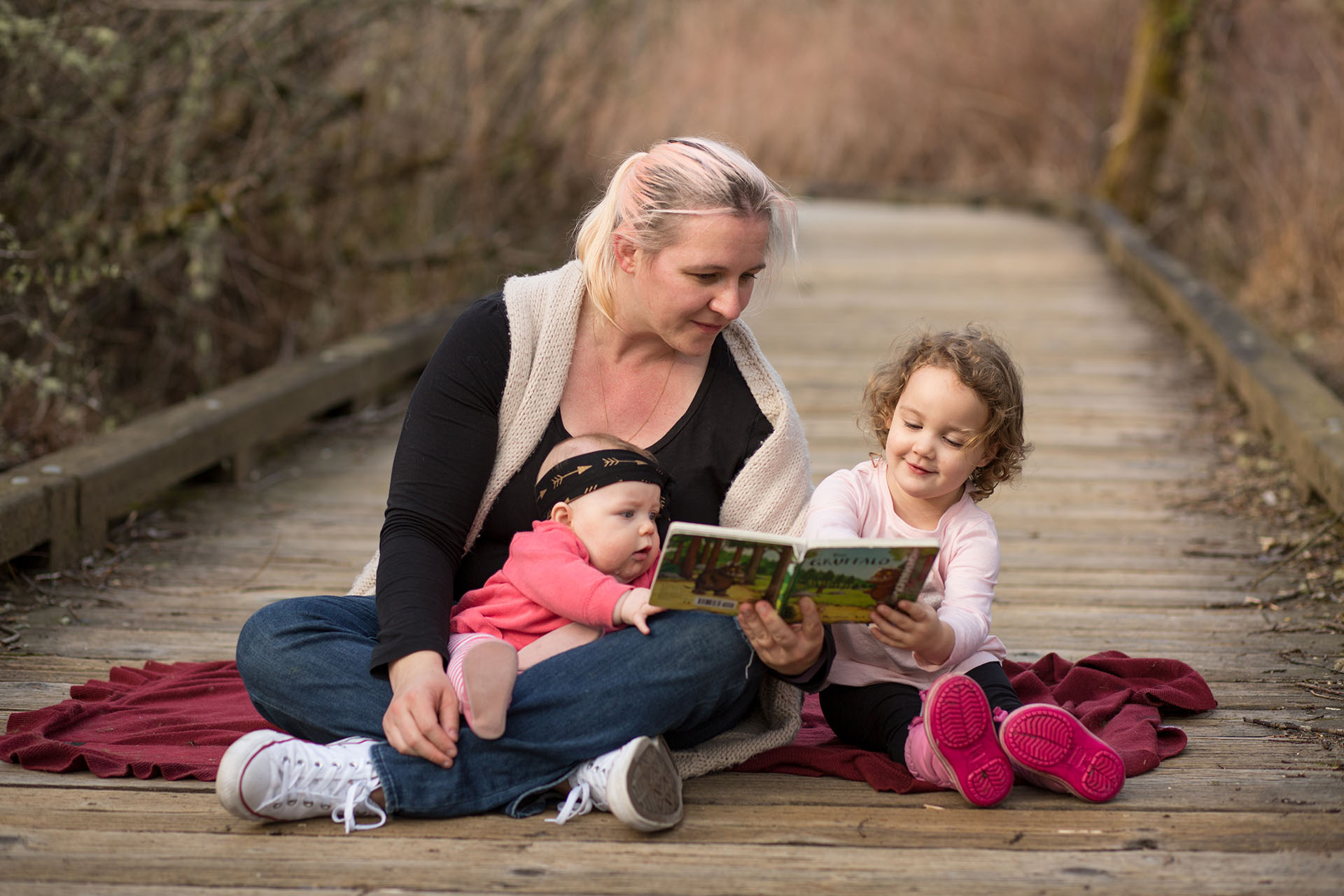 Mercer Island Family Photography Luther Burbank Park