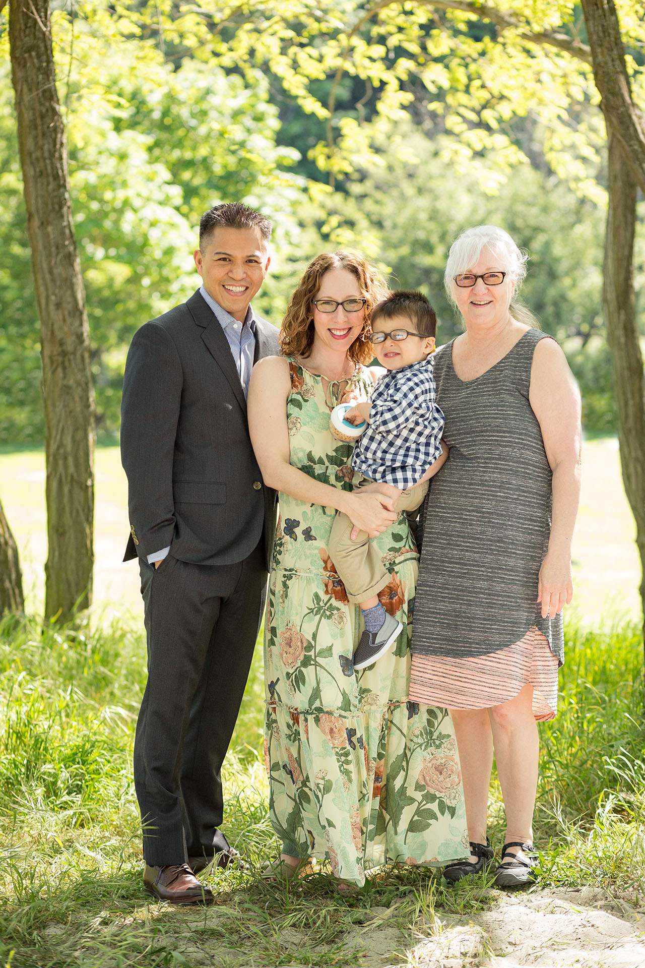 seattle family photographers entwined portraits