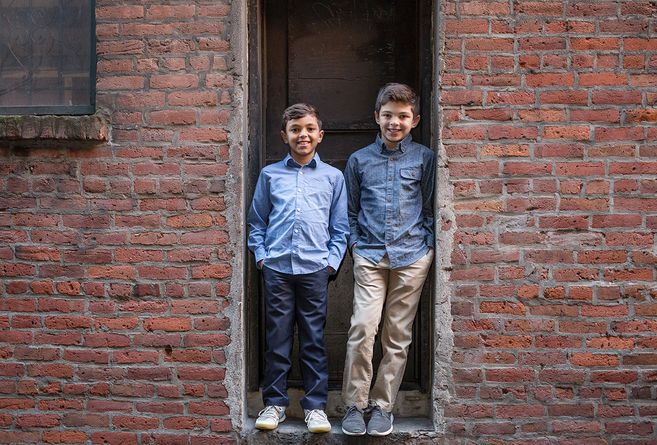 Seattle Lifestyle Family Photographers Pioneer Square Family Pho