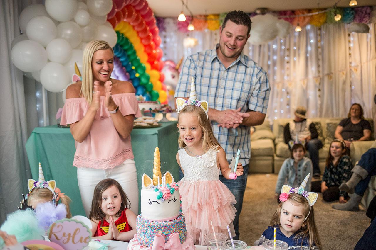 Seattle Bellevue Redmond Childrens Birthday Party Portrait Photo