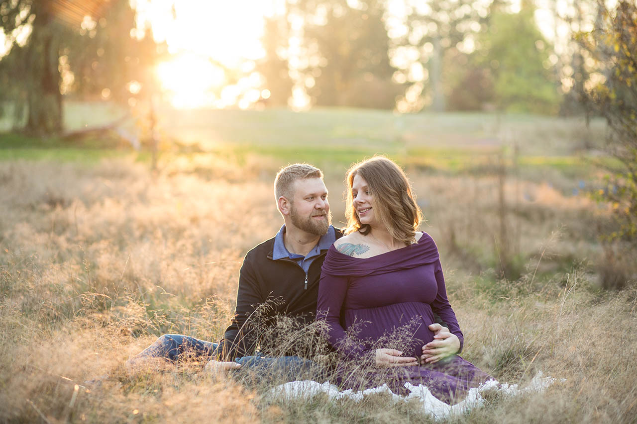 Seattle Bellevue Maternity Photographers Entwined Portraits