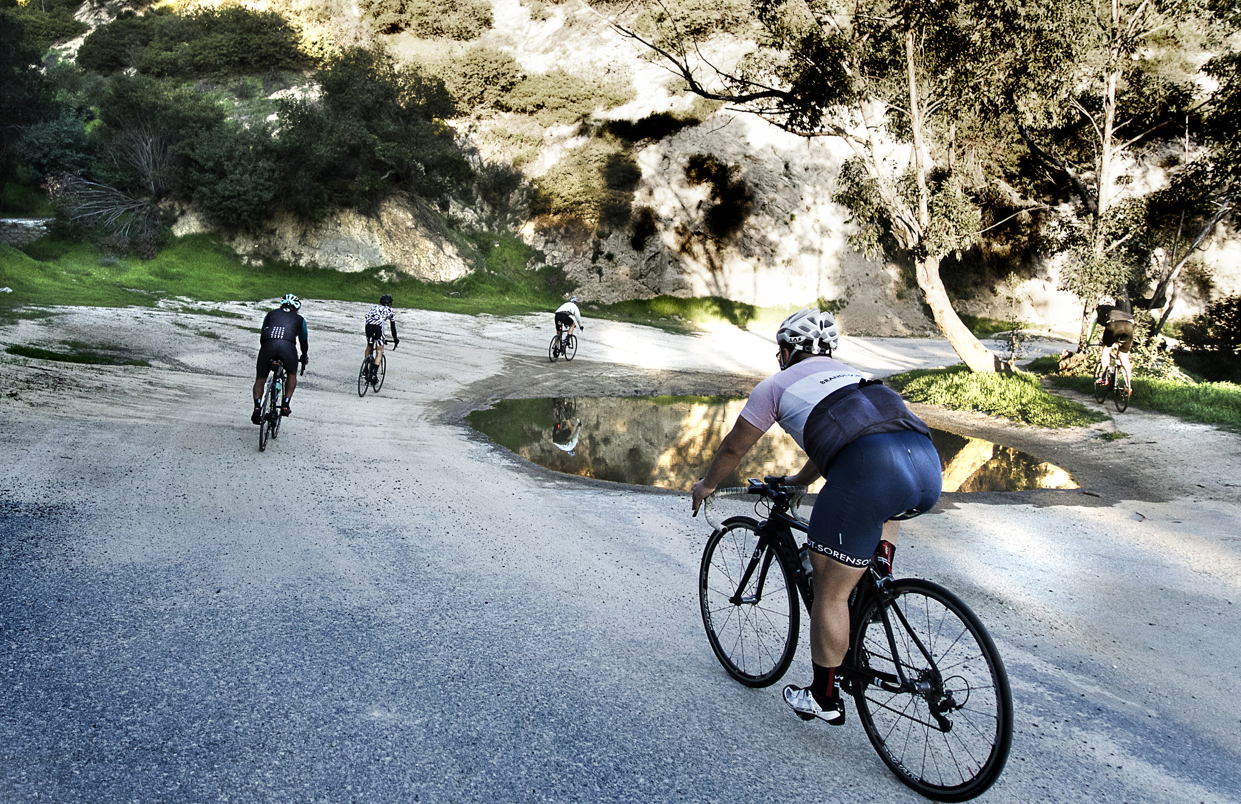 Griffith Park ascent, the dirty way