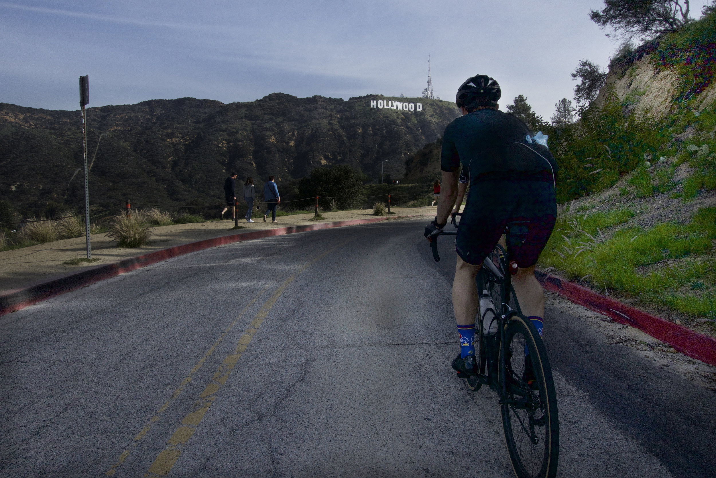 the worst part of the Hollywood Sign climb